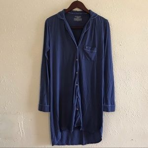 Victoria secrets shirt style night gown.